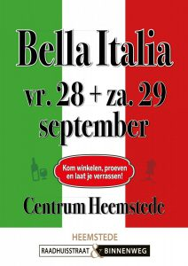 2018 sept Italiaanse week
