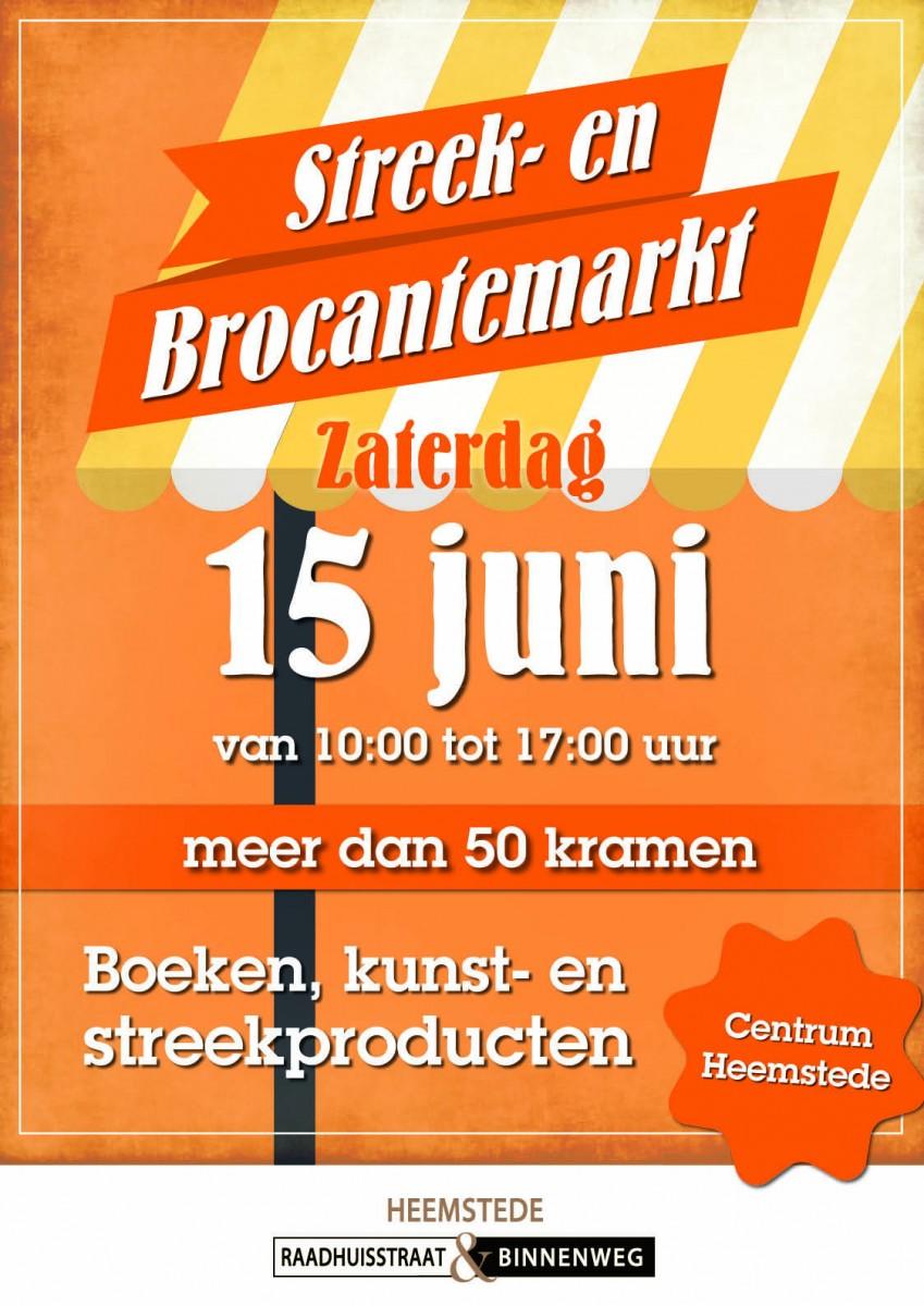 da351ac145a ... zaterdag 15 juni a.s. weer een streek- en brocantemarkt in onze  winkelstraat plaatsvinden. Meer dan 50 marktkramen zullen van 10 tot 17 uur  gevuld zijn ...