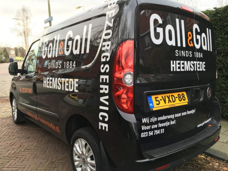 Gall&Gall busje